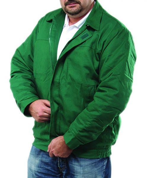 f92aae11b5 EGTDZS ECOgreen zöld pamut téli bélelt dzseki