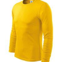 Férfi póló FIT-T Long Sleeve sárga