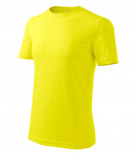 Férfi Classic New póló citrom