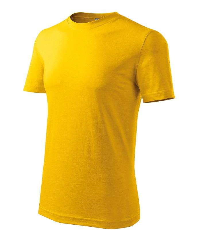 Férfi póló Classic New sárga