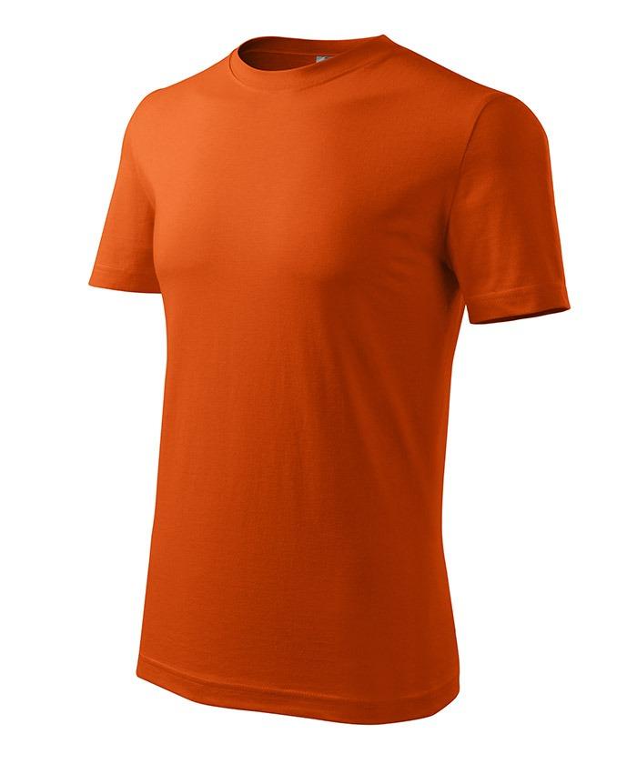 Férfi póló Classic New narancssárga