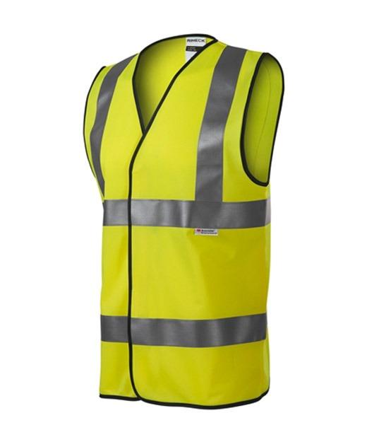 9V3 HV BRIGHT uniszex biztonsági mellény sárga