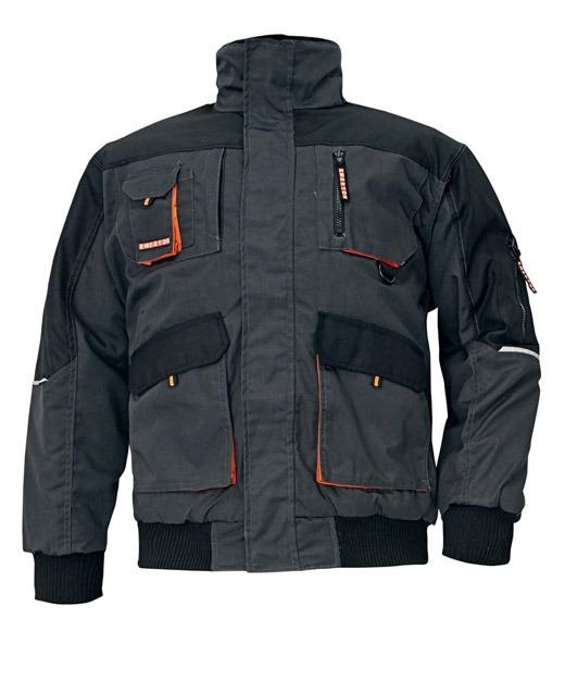 CERVA Emerton Pilot fekete dzseki