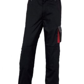 123643a113 D-MACH munkanadrág fekete-piros