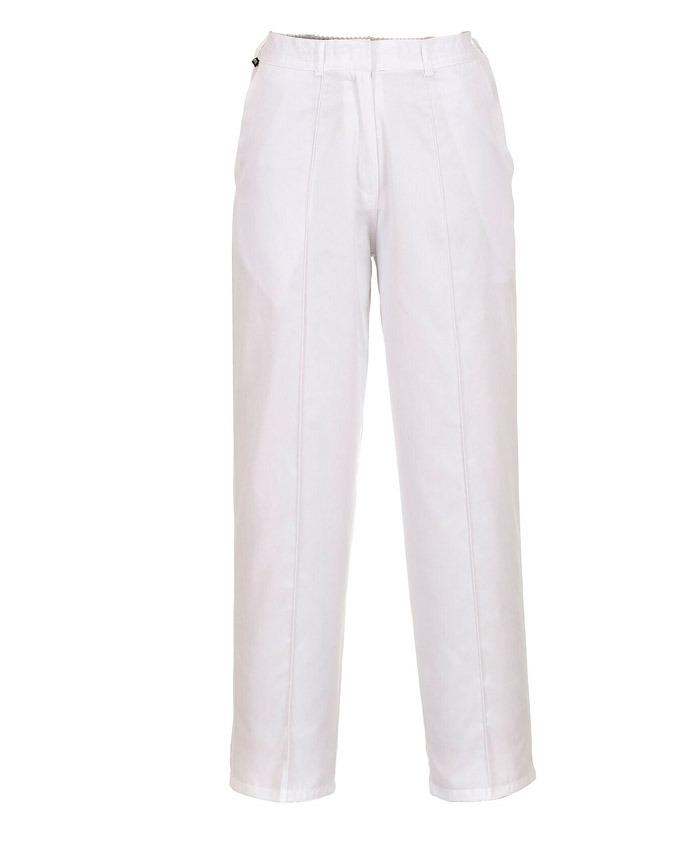 LW97 Női gumírozott nadrág fehér