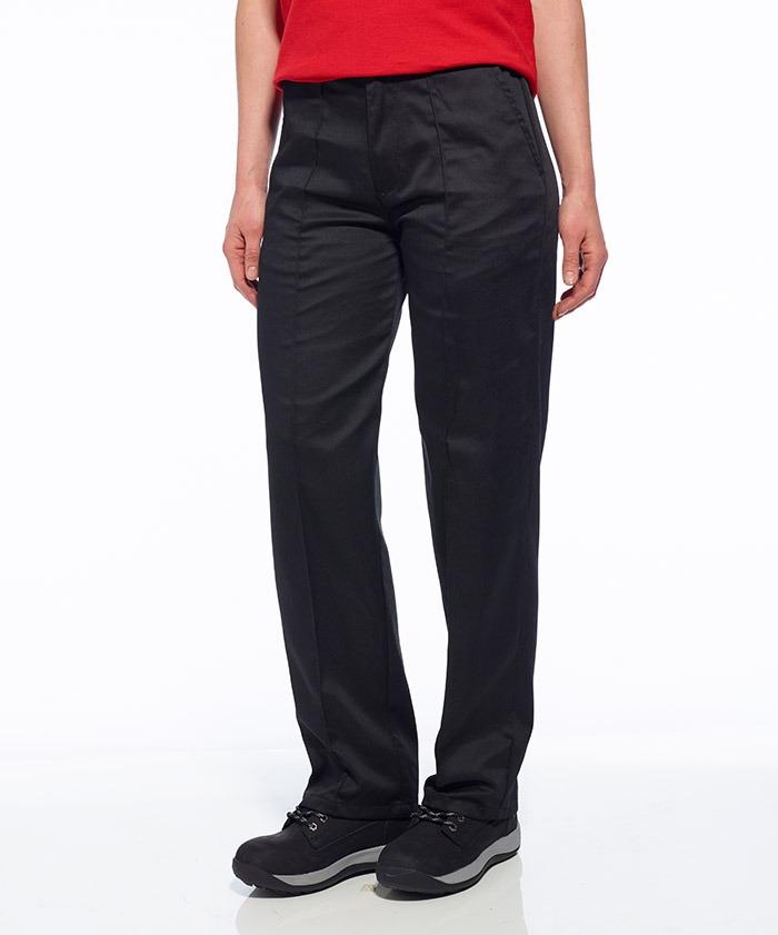 LW97 Női gumírozott nadrág fekete