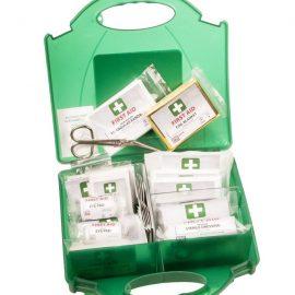 FA10 - 10 fő részére elsősegély doboz - zöld