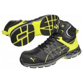 Puma Pace 2.0 Yellow low S1P ESD HRO SRC munkavédelmi cipő Cipőméret 38
