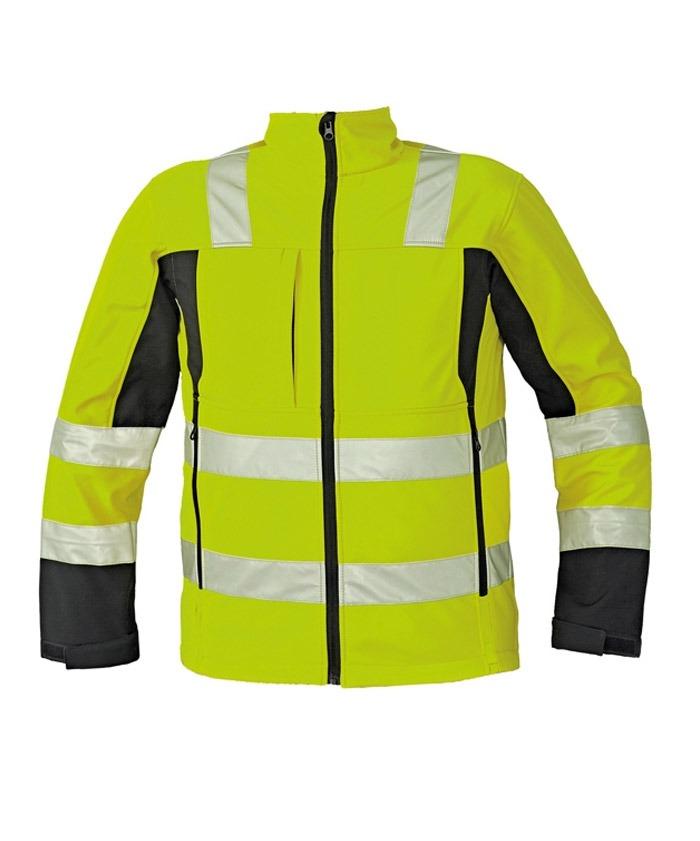 MALTON Softshell jól láthatósági kabát