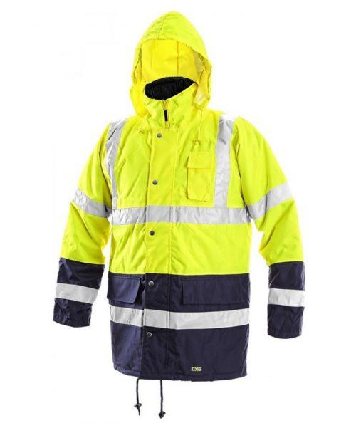 CXS Oxford bélelt jól láthatósági kabát 1ed50ea861