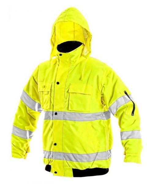 Leeds 2in1 bélelt jól láthatósági kabát e64bcdd068