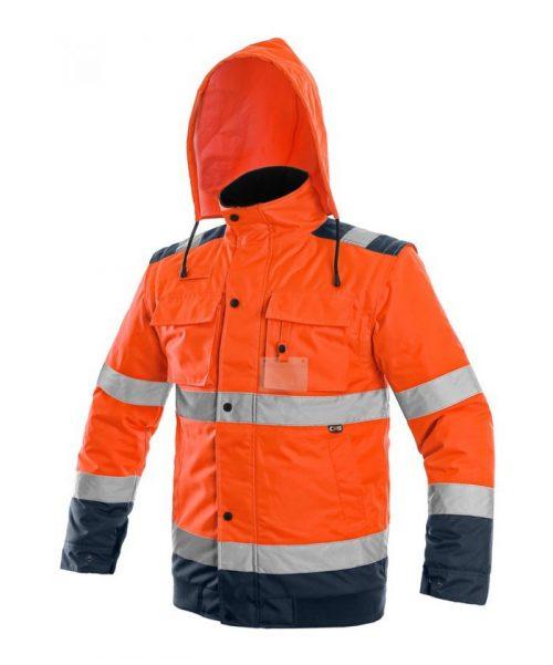 4fbc1c0e22 CXS Luton 2in1 bélelt jól láthatósági kabát