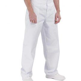 APUS MAN Férfi fehér munkanadrág 100% pamut