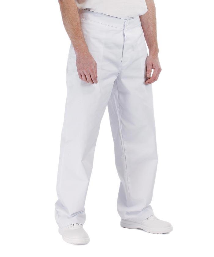0659f404d1 APUS MAN Férfi fehér munkanadrág 100% pamut | Melóruha