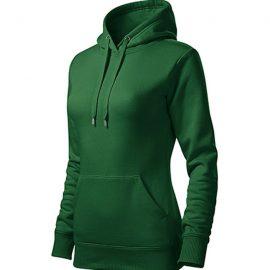 CAPE 414 belebújós női kapucnis pulóver