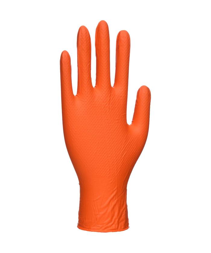 A930 Orange HD narancssárga egyszerhasználatos kesztyű (100 db)