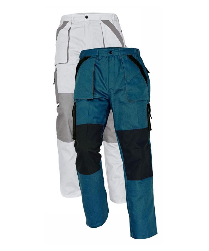Cerva Max nadrág fehér-szürke, zöld-fekete