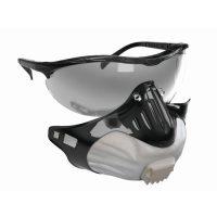 FILTERSPEC SET FFP2 NR V Védőszemüveg és légzésvédő maszk kombó FFP2