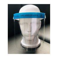 MZ-5 arcvédő, szivacsos homlokvédővel, gumis pánttal
