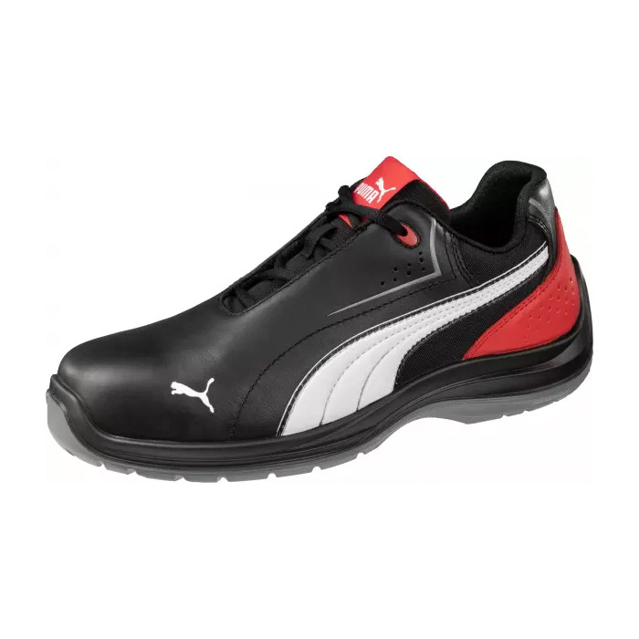 Puma Touring Black Low S3 SRC munkavédelmi cipő